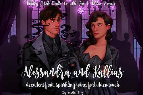 Alessandra and Kallias - Shadows Between Us Inspired