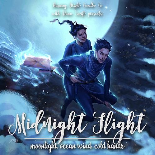 Midnight Flight - Cast In Firelight Inspired