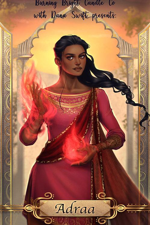 Adraa - Cast in Firelight Inspired