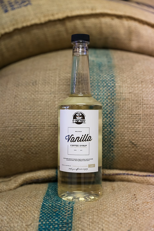 Vanilla Coffee Syrup  750ml