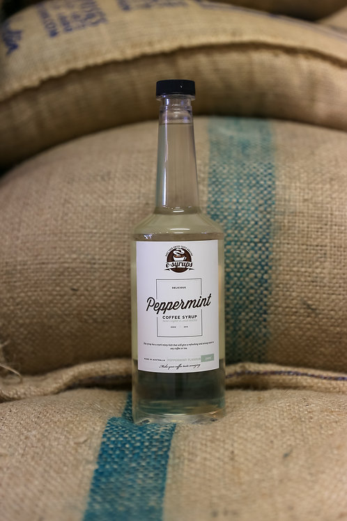 Peppermint Coffee Syrup 750ml