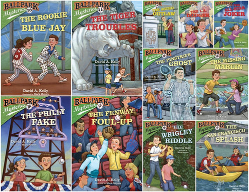 Ballpark Mysteries books - Complete Set (21 books)