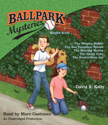 Ballpark Mysteries Audiobook Collection #2 (books 6 - 10)