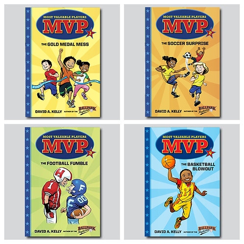 MVP Complete Collection (4 books)