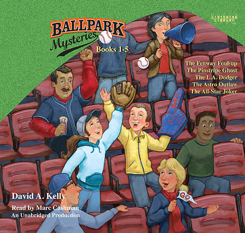 Ballpark Mysteries Audiobook Collection #1 (books 1 - 5)