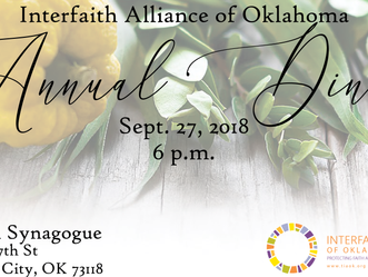 2018 Annual Dinner Registration Open
