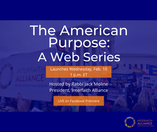 """Where are we headed? Find out in """"The American Purpose"""""""