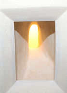 Amazing Passage Lightbox (detail). Ceramic.