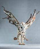 Bronze Sculpture. Swoop