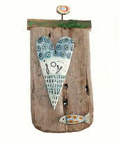 Hand made. Love Token. Ceramic
