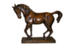 Stunning Bronze Horse