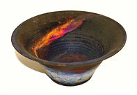 ART Copper fumed bowl.