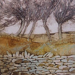 Beautiful collagraph