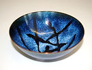 Blue Enamelled Bowl