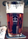 Etched Pint Glass