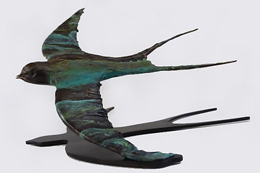 BRONZE   Swallow.