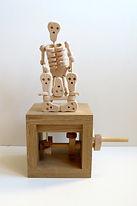 Amazing. Skellybongos. Wooden Automata