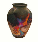 ART Copper fumed Pot.