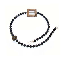 Jewellery. Onyx & Jasper Necklace