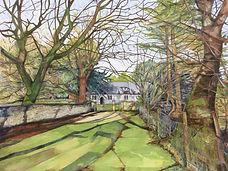 Original ART. St Marys Church, Bettws y Crwyn.