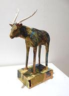 ART. Ceramic Stag.