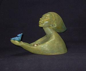 Stunning ceramic sculpture