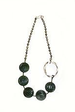 Jewellery. Agate, Jasper Necklace.