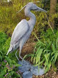 Handmade Heron fo the garden