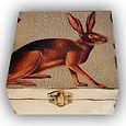 Decoupage Hare Box