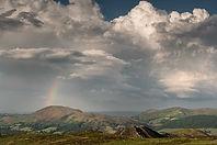 Rainbow over Caradoc.
