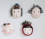 Original Ceramic Masks.