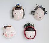 Original ceramic masks