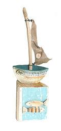 Mand made. Little Boat. Ceramic a