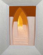 Amazing Ceramic Spiral Stairs Lightbox