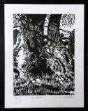 Linoprint. Shropshire.