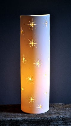 Starlets Cylinder Table Lamp