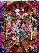 Original Art.  Viva Miranda. Collage
