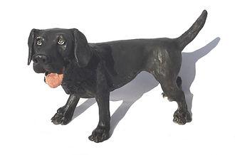 Original ceramic dog