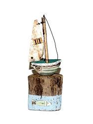 "Unique Handmade ""Little Boat"""