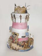 Hand built Lighthouse. Ceramic