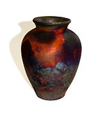 Copper Fumed Pot.