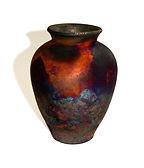 Copper Fumed Pot.