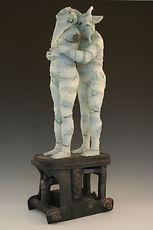 Stoneware Sculpture.