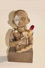 Original Sculpture. Torso on Plinth
