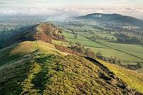 Shropshire Hills. Gliclee print of photograph.