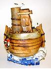 Original  Hand made  Ceramic Boat