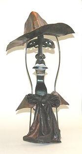 ART Unique metal sculpture