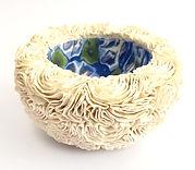 Beautiful porcelain sculpture