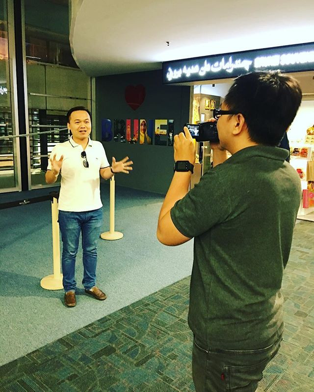 Shooting at Bandar Seri Begawan, Brunei.
