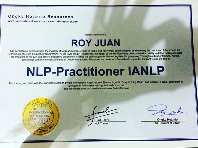 NLP Practioner Certified by IANLP..jpg